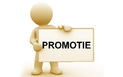 Promotie; advertenties, interviews in (regionale) vakbladen